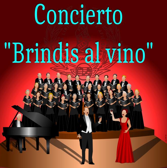 La CLA Pepe Eizaga organiza el sábado en Riojafórum el concierto 'Brindis al vino'