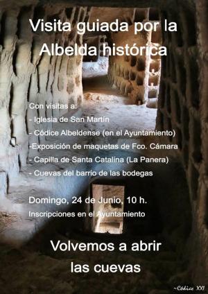 Visitas guiada por la Albelda histórica
