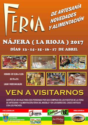 Feria de Artesanía, novedades y alimentación