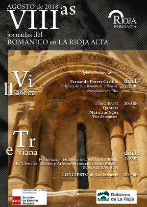 VIII Jornadas del Románico en La Rioja Alta