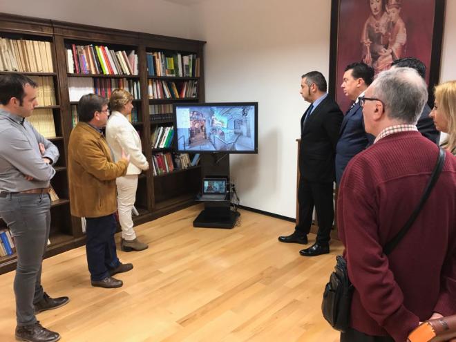 Santa María La Real cambia su página web apostando por la innovadora técnica virtualE360 para virtualizar el Monasterio
