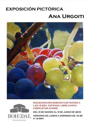 Exposición pictórica de Ana Urgoiti