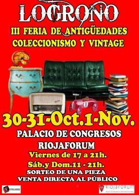 III FERIA DE ANTIGÜEDADES, COLECCIONISMO Y VINTAGE