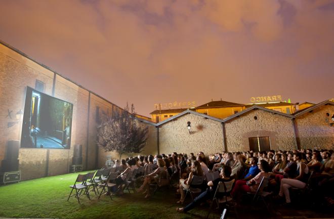 Cine de verano en Bodegas Franco-Españolas
