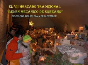 III Mercado Tradicional de Navidad. Belén mecánico.