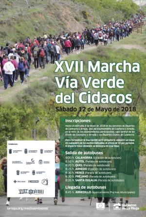 XVII Marcha Vía Verde del Cidacos