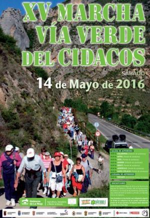 XV Marcha Vía Verde del Cidacos