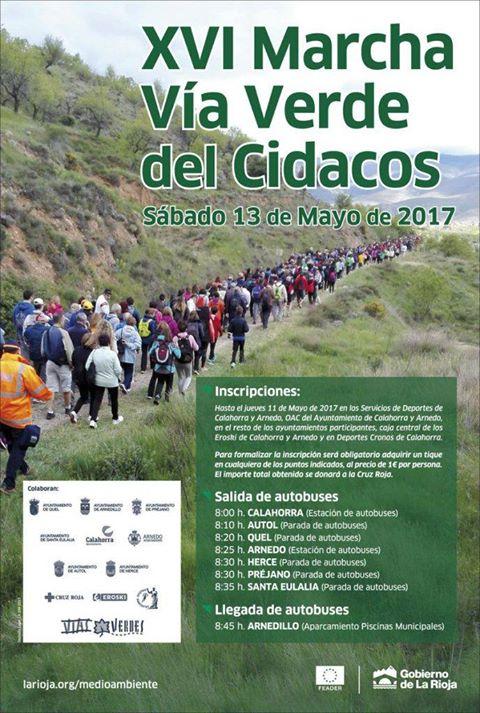 XVI Marcha Vía Verde del Cidacos