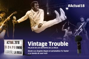 Vintage Trouble, energía Soul Rock para el Palacio