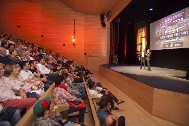 Entrega de premios del II Festival Internacional de Cortometrajes sobre Gastronomía y Vino 'Win5 Festival'