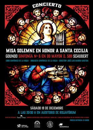 CONCIERTO MISA SOLEMNE EN HONOR A SANTA CECILIA