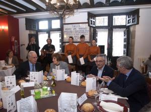 Ceniceros participa en Santo Domingo en la III Jornada de la Matanza del Cerdo organizada por el CIPFP Camino de Santiago