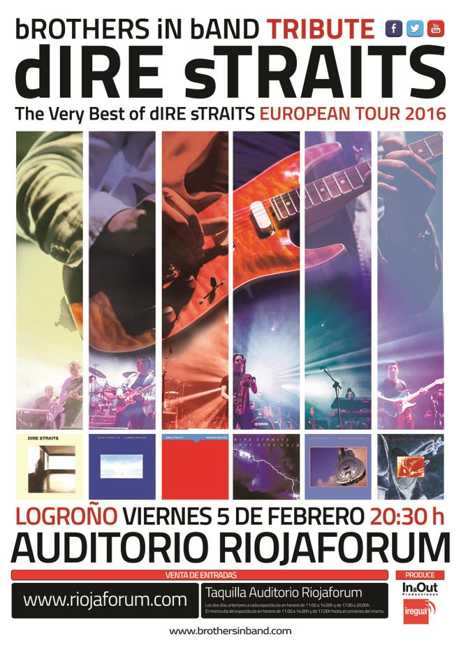 """BROTHERS IN BAND TRIBUTE """"THE VERY BEST OF DIRE STRAITS SHOW"""""""