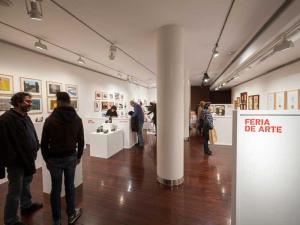 Feria de Arte. 5 artistas en pequeño formato