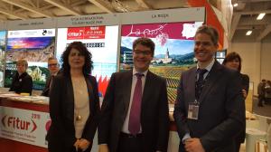El Gobierno de La Rioja promociona la región como destino turístico en la Feria Internacional de Turismo de Berlín