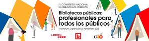 IX CONGRESO NACIONAL DE BIBLIOTECAS PÚBLICAS