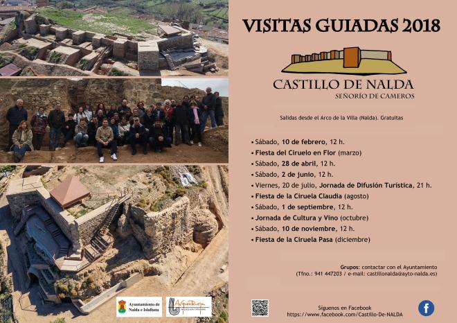 Visitas guiadas al Castillo de Nalda Señorío de Cameros