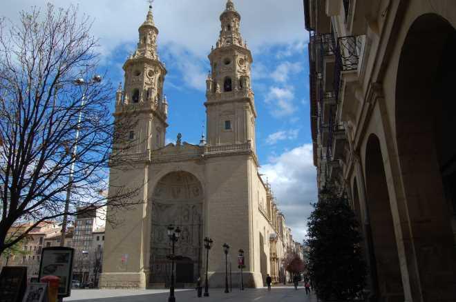 Iglesia de Santa María de la Redonda en Logroño