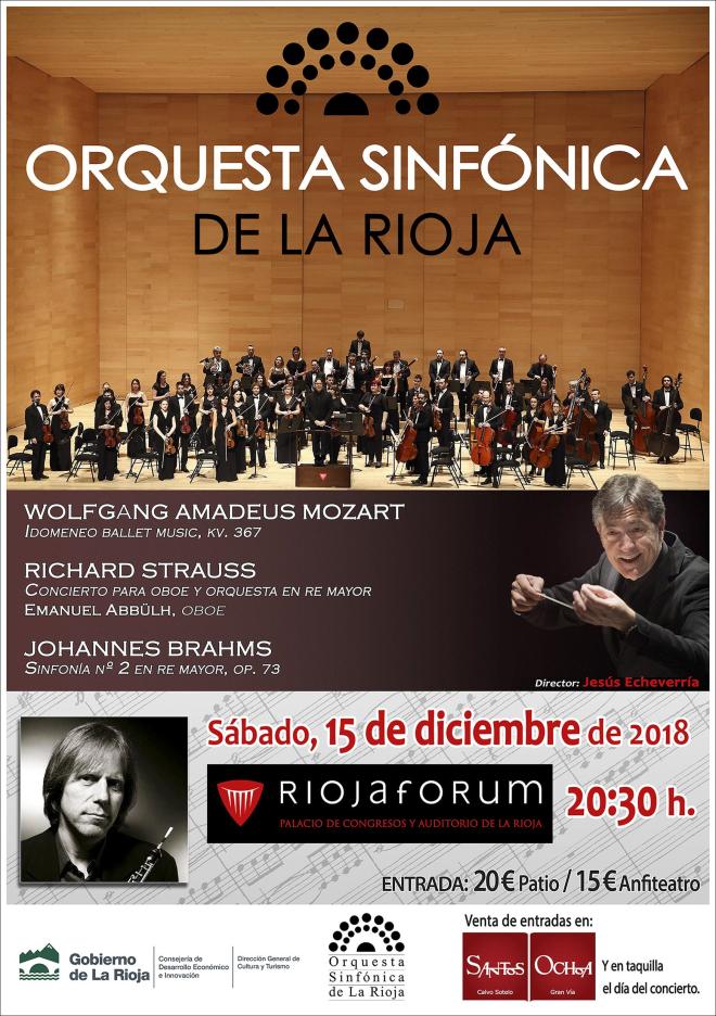 Concierto de Navidad Orquesta Sinfónica de La Rioja