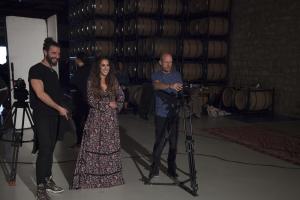 Making of del videoclip de Malú grabado en La Rioja
