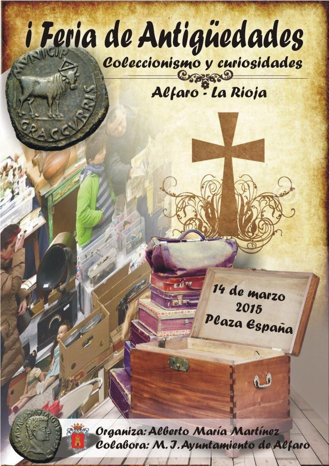 I Feria de Antigüedades de Alfaro