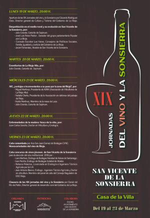 XIX Jornadas del Vino y la Sonsierra