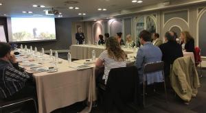 Rodríguez Osés ha presentado esta mañana la oferta turística del destino La Rioja en Bilbao