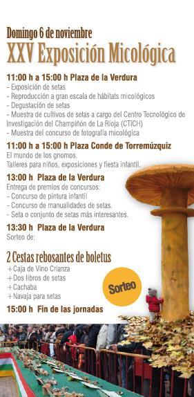 XXV Jornadas Micológicas de Ezcaray