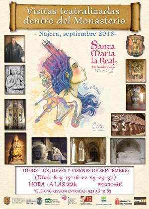Rutas teatralizadas al monasterio de Santa María La Real de Nájera