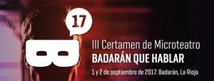 """III Certámen de Microteatro """"Badarán que hablar"""""""