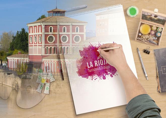 Turismo y dibujo en La Rioja