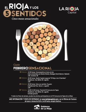 Actividades de febrero en 'El Rioja y los 5 sentidos': el gusto