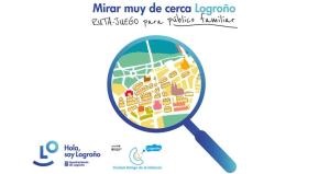 Mirar muy de cerca Logroño