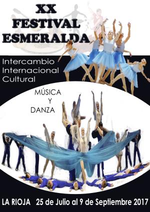 XX Festival Internacional Esmeralda Intercambios Culturales de Música y Danza
