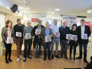 Rodríguez Osés ha participado en Logroño en la presentación de la guía Comer con Hemingway