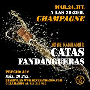 Cata Fandanguera de champagne