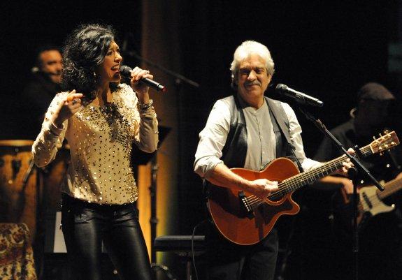 Chema Purón, Lucía Pérez y Francisco, con Proyecto Hombre