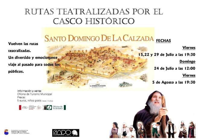 Rutas teatralizadas por el casco histórico de Santo Domingo