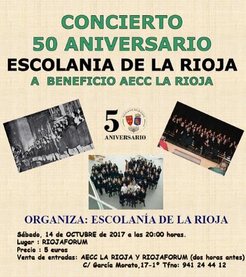 50º ANIVERSARIO CORO ESCOLANIA DE LA RIOJA