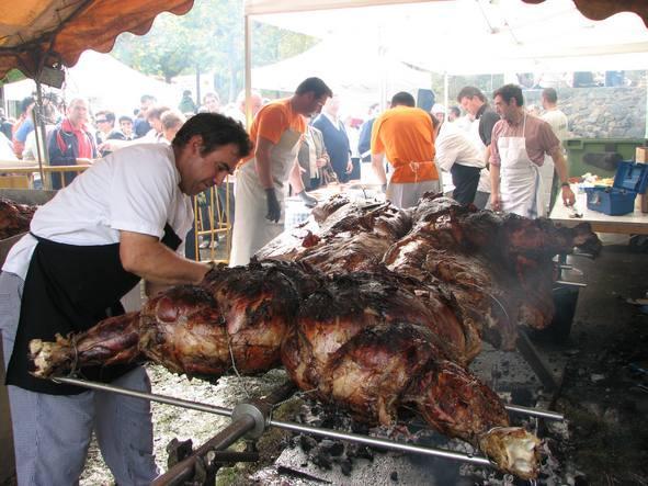 Journée de la Vache grillée, Enciso