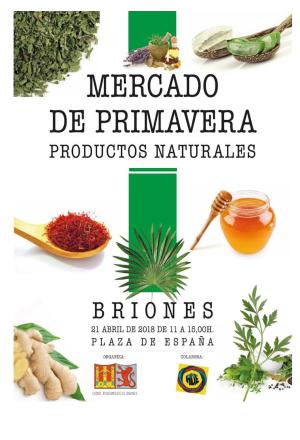 I Mercado de Primavera productos naturales y artesanos