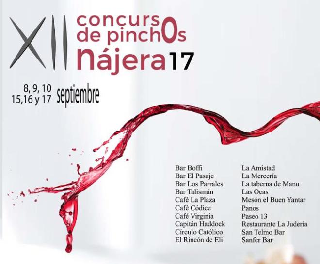 XII Concurso de Pinchos de Nájera 2017