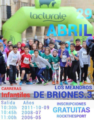 "Carrera popular ""Los Meandros de Briones"""