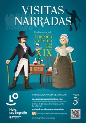 """Visitas Narradas """"Logroño y el vino en el siglo XVII"""""""