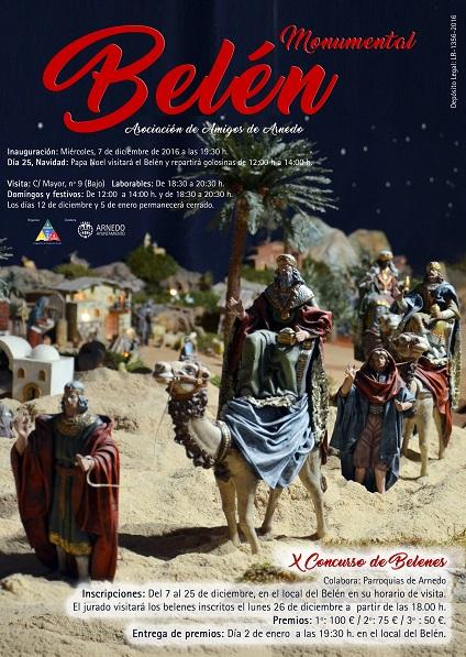 Belén Monumental de Arnedo y programa de Navidad