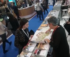 El Gobierno riojano presenta la exposición La Rioja Tierra Abierta en Arnedo 2017 en la Feria de Turismo de Londres