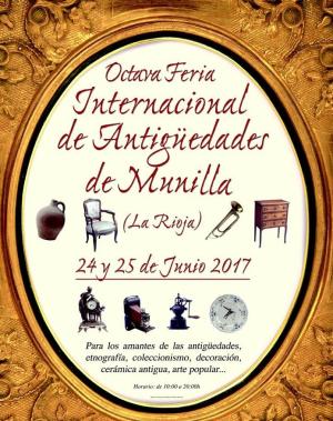 VIII Feria Internacional de Antigüedades de Munilla