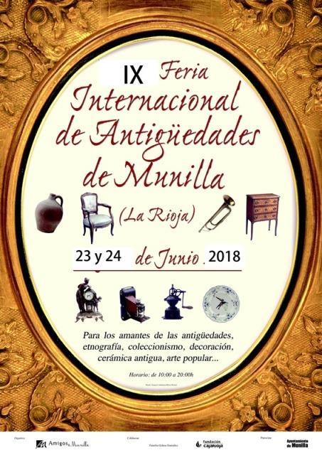IX Feria Internacional de Antigüedades de Munilla