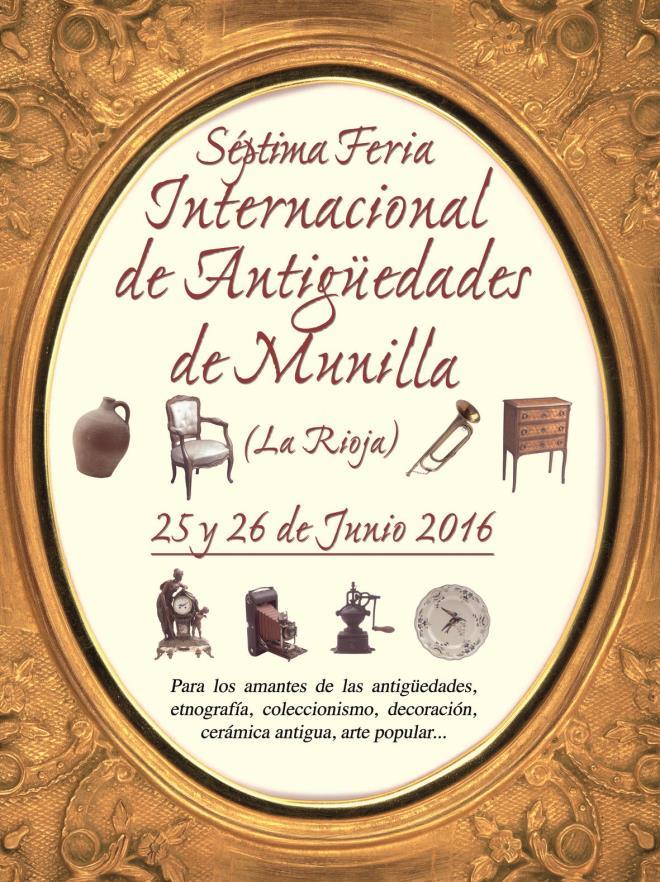 VII Feria Internacional de Antigüedades de Munilla