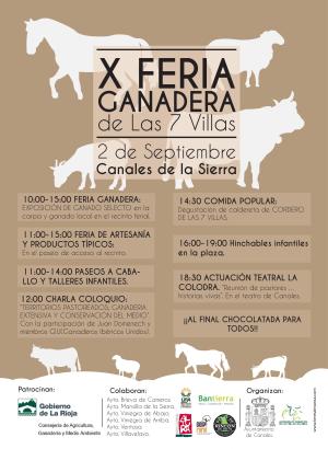 X Feria Ganadera de las 7 Villas